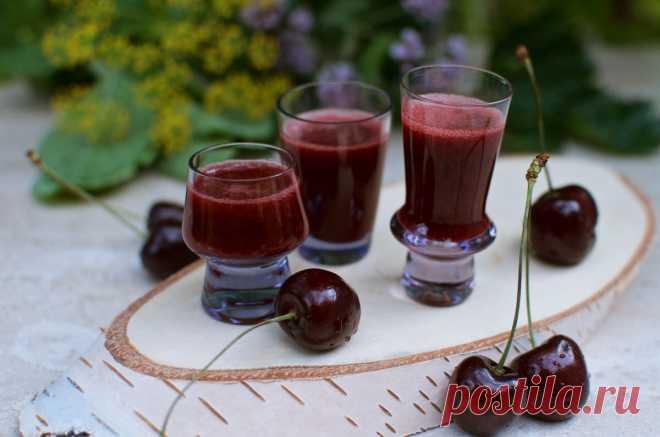 Простой рецепт вина из черешни. | Пять капель | Яндекс Дзен