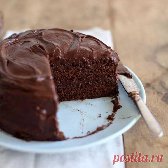 Быстрый пирог на кефире с шоколадом — Sloosh – кулинарные рецепты