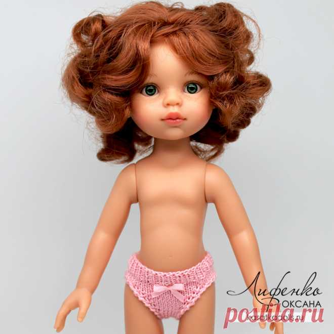 Трусики спицами для куклы Паола Рейна @ Оксана Лифенко