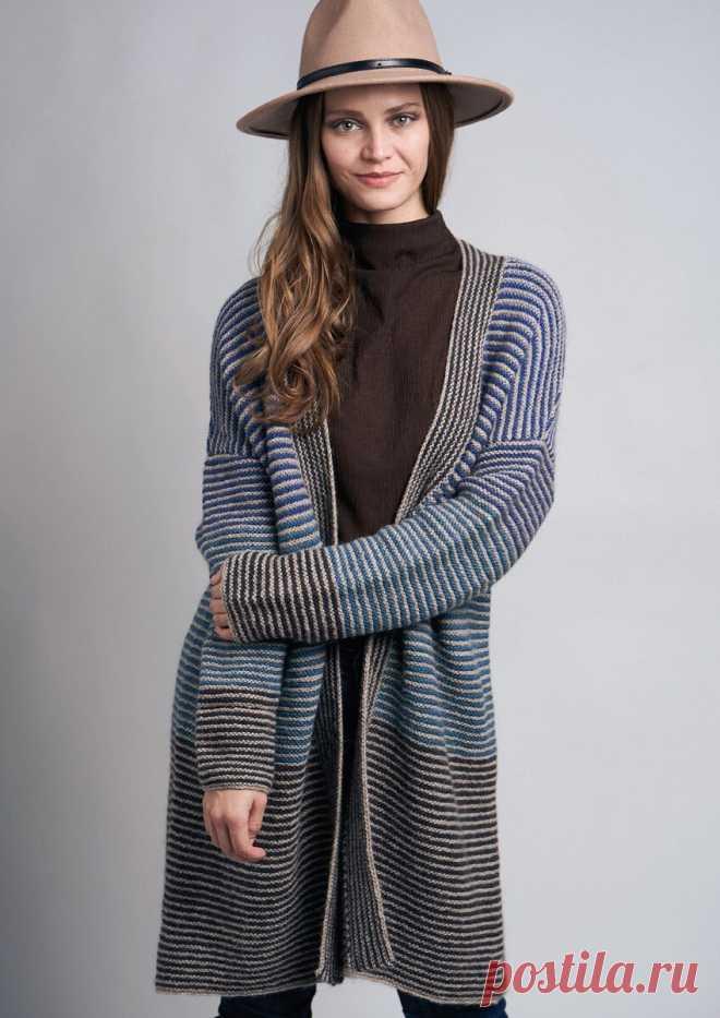 Получила заказ на вязаный пуловер с