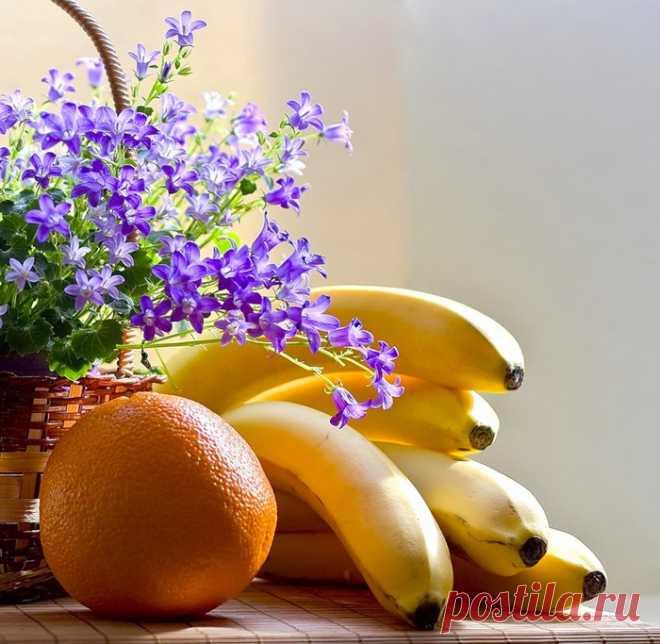 Банан избавит от морщин Натюрморты
