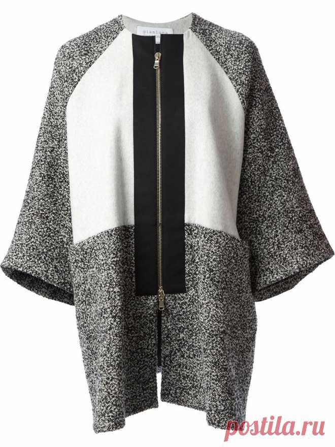 Gianluca Capannolo Пальто Oversize Colorblock - aniello - Farfetch.com