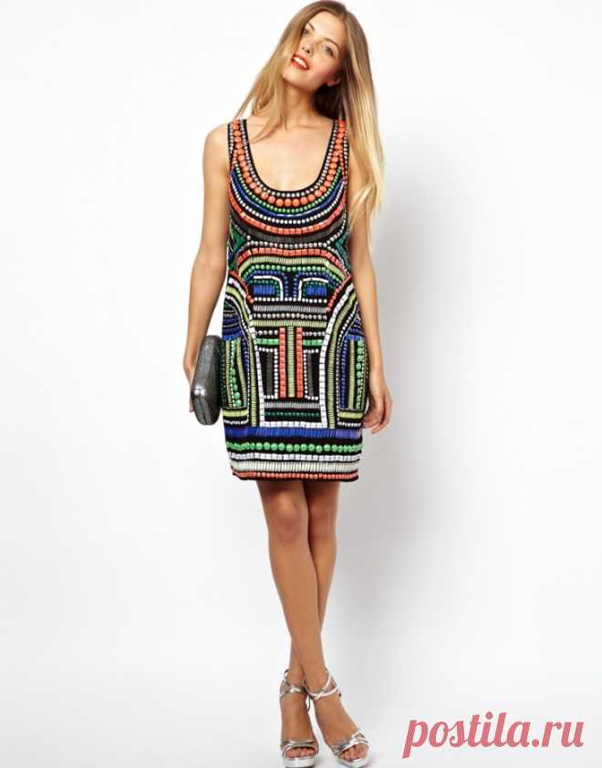 Платья ASOS с вышивкой (трафик) Модная одежда и дизайн интерьера своими руками