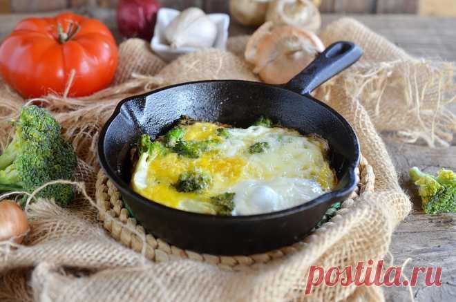 Брокколи с яйцом на сковороде рецепт с фото пошагово и видео - 1000.menu