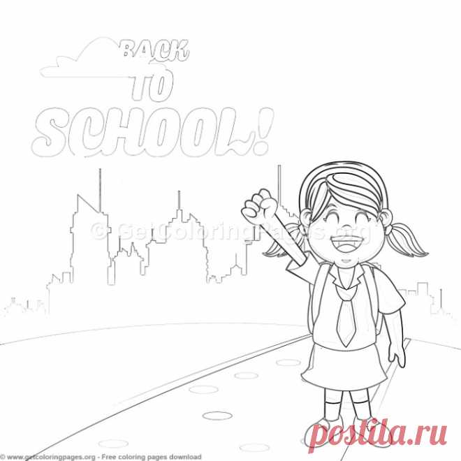 28 Back to School Coloring Pages – GetColoringPages.org