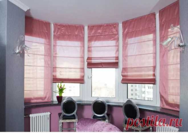 How to choose eaves for the Roman curtains | CURTAINS, LAMBREQUINS, HOUSE TEXTILES as the HANDS