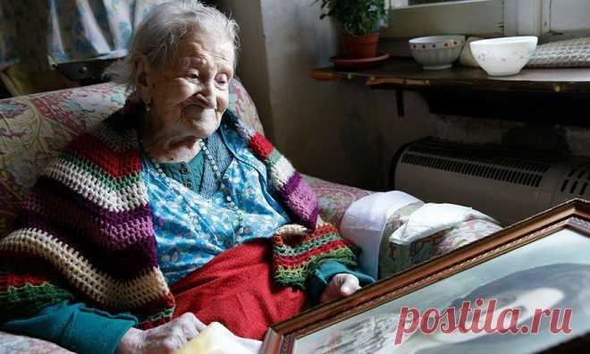 Женщина из XIX века (последняя на планете!) делится секретом долголетия . Милая Я