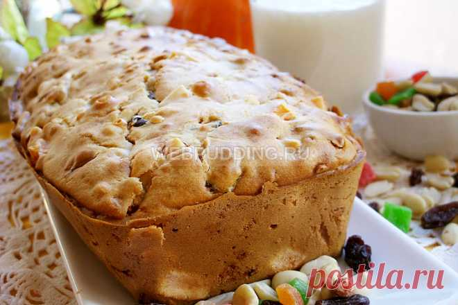 El pastel con la calabaza sobre el kéfir | Como preparar en Webpudding.ru