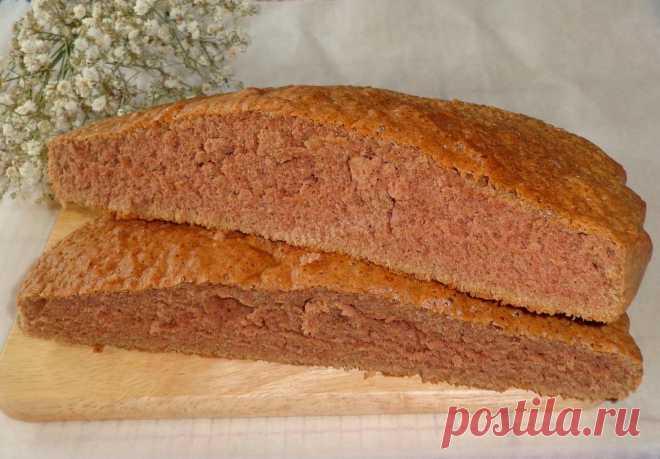 Классический шоколадный бисквит рецепт с фото - 1000.menu