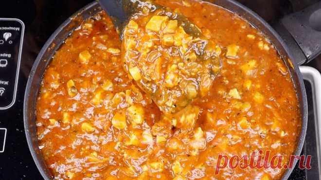 Быстрая томатная подлива для гречки, макарон и пюре | Евгения Полевская | Это просто | Яндекс Дзен