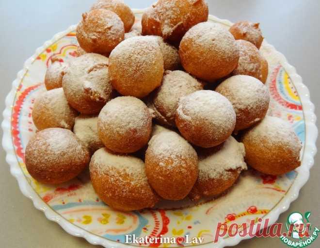 Пончики на кефире на скорую руку – кулинарный рецепт