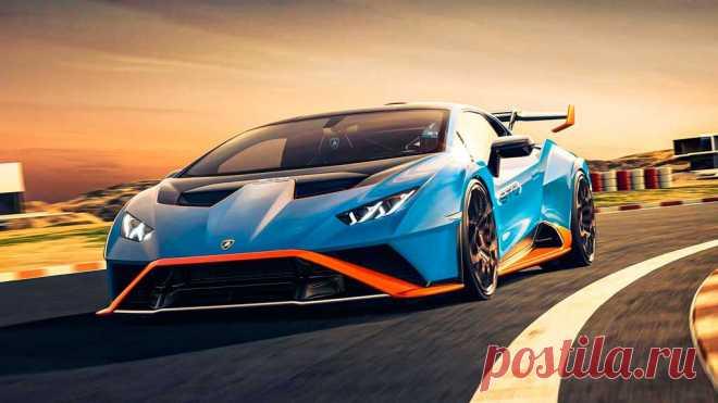 Новое купе Lamborghini Huracan STO 2021 пришло на смену Performante