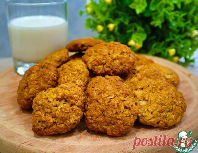 Домашнее овсяное печенье – кулинарный рецепт