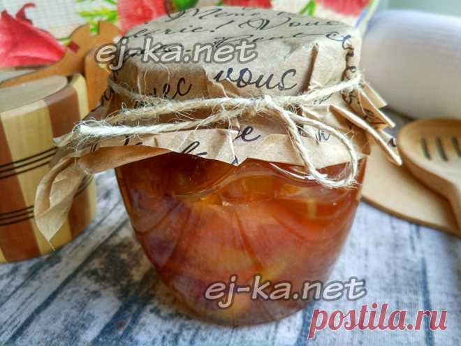 Варенье из персиков дольками на зиму, простой рецепт | Рецепты с фото