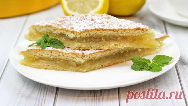 🍋 Лимонный Пирог или Лимонник (Лучший рецепт! Вы удивитесь как вкусно!!) | Домашние рецепты с Любовью | Яндекс Дзен