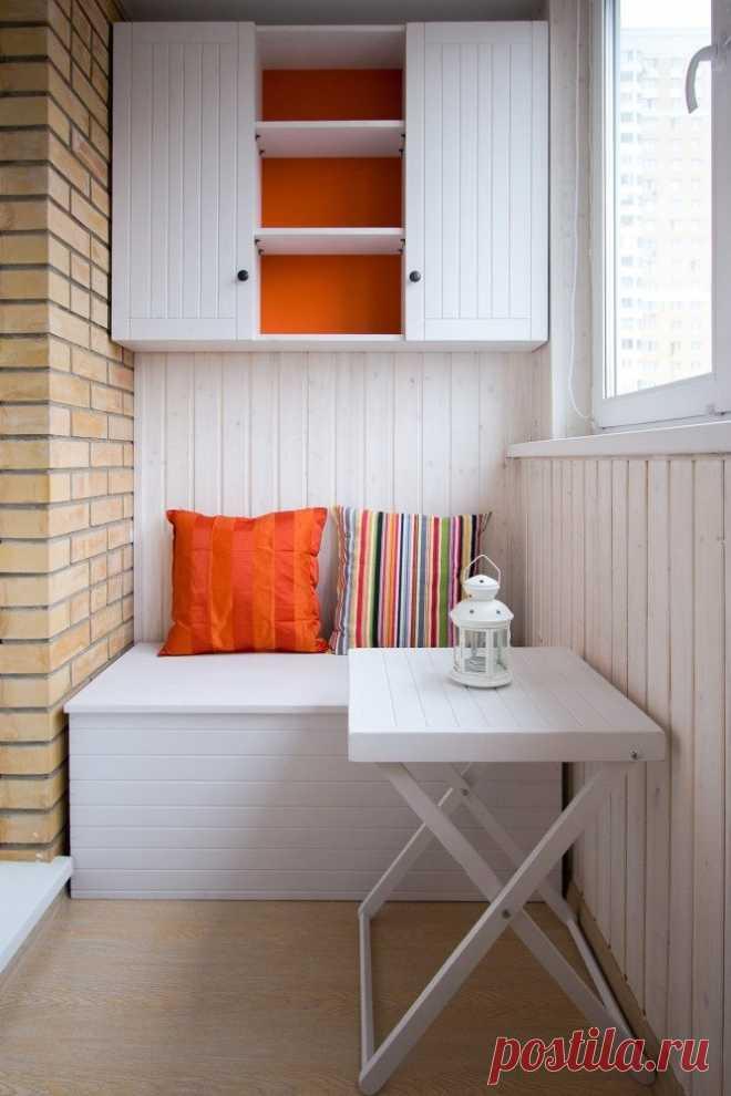 Идеи обустройства балкона или лоджии — Сделай сам, идеи для творчества - DIY Ideas