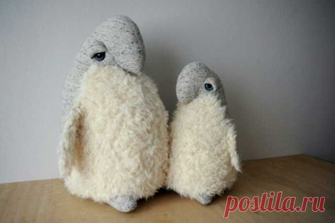 Теплые пингвины (?) Модная одежда и дизайн интерьера своими руками