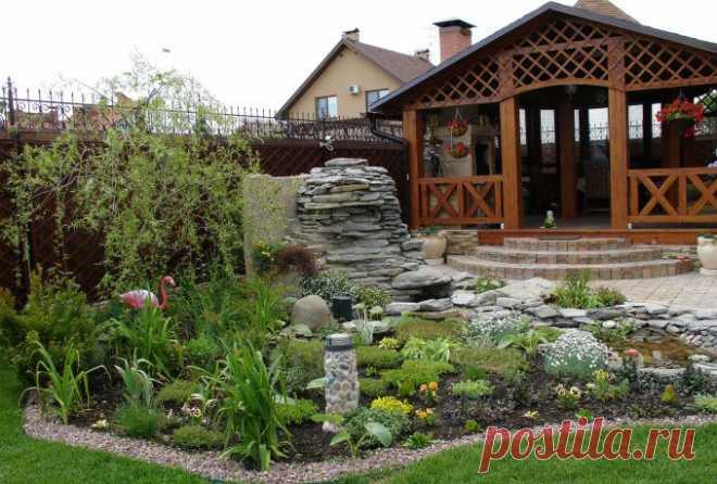 «Несколько оригинальных идей для украшения сада»