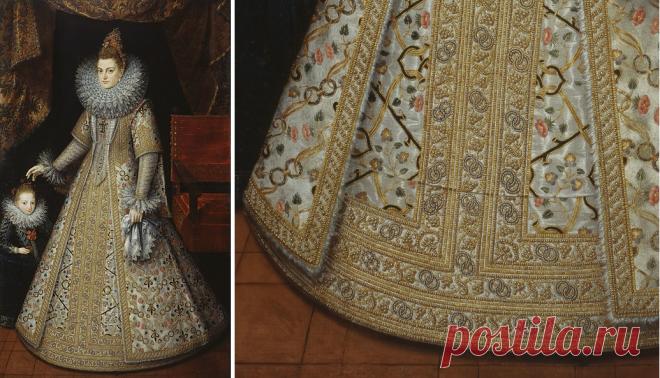 Загадочная деталь на испанских платьях эпохи Возрождения   История моды с Марьяной С.   Яндекс Дзен
