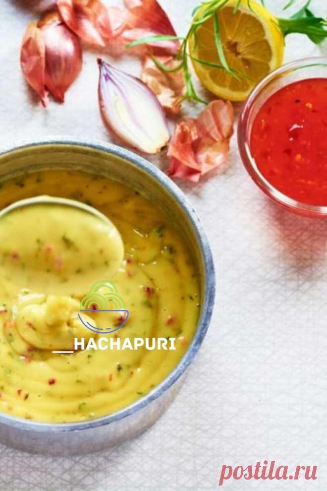 Вкусная замена майонезу. Беарнский соус | hachapuri | Яндекс Дзен