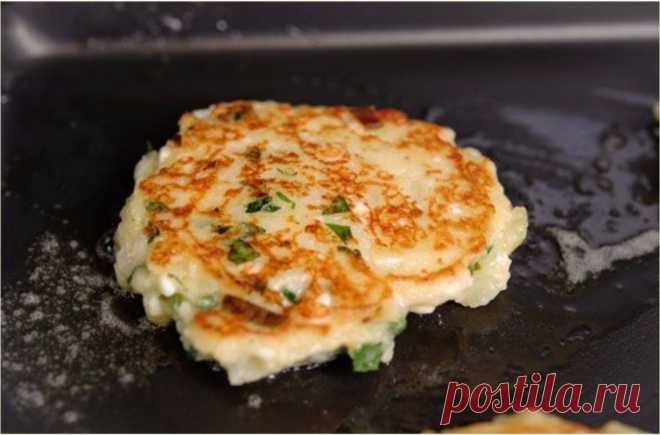 Полезный перекус: Картофельные оладьи с сыром - Стильные советы