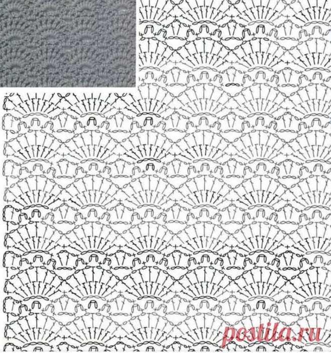 Ажурная инстаподборка моделей с приложением схем для вязания. | Asha. Вязание и дизайн.🌶 | Яндекс Дзен