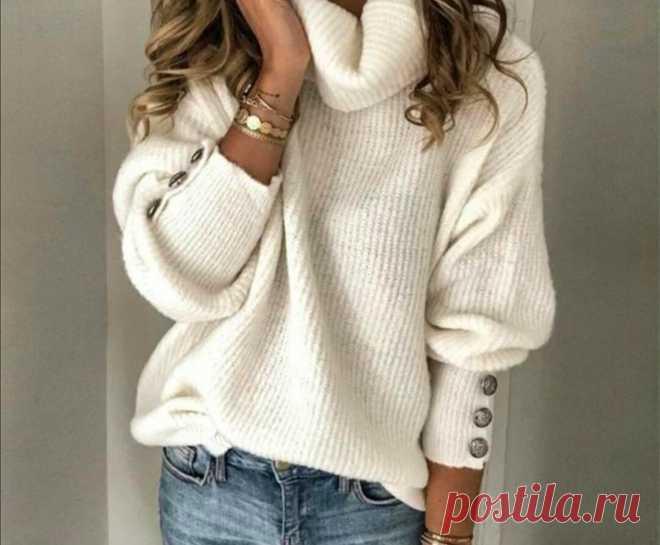 Модные и стильные свитеры в 2021 году для женщин | * Мечтательница* | Яндекс Дзен