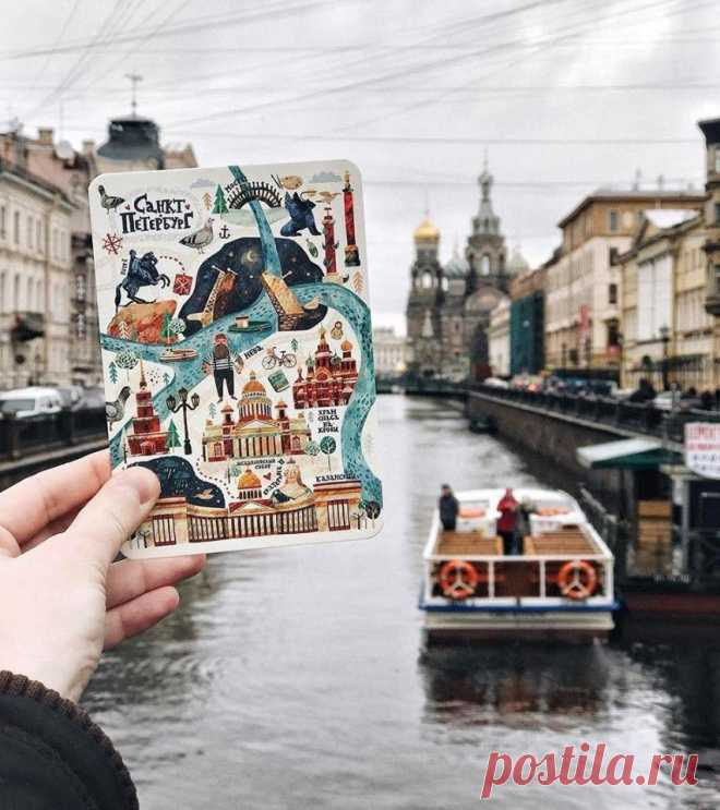 Большие открытки, сколько идет открытка из санкт-петербурга в москву