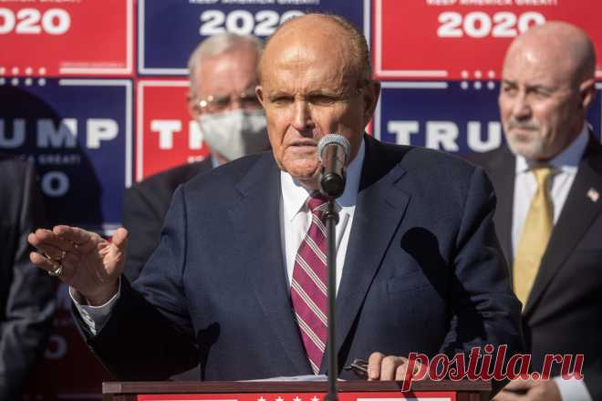 Giuliani: Lawsuits 'Ready to Go' to the Supreme Court Rudy Giuliani, President Trump's personal attorney,considers there to be