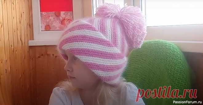 Готовимся к холодам) шапочка