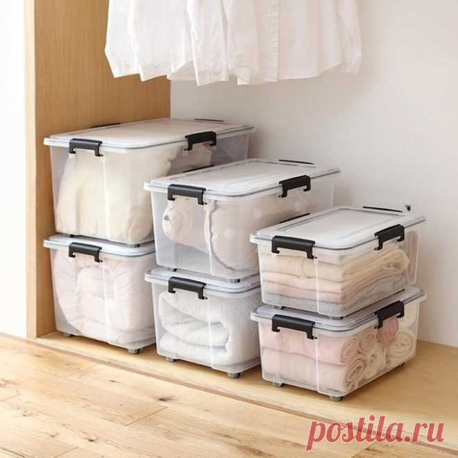 Секреты качественного хранения одежды