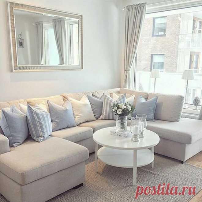 Маленькая гостиная. Планировка, мебель, дизайн. 20 ключевых рекомендаций (+эл. книга)   Дизайн интерьера и обустройство   Яндекс Дзен