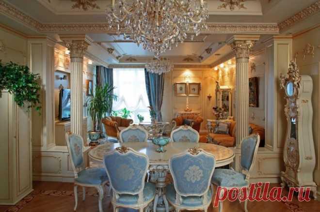 Комната в стиле барокко #стильбарокко #дизайнинтерьера