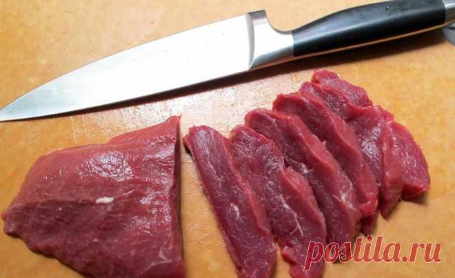 Aquí la receta presente de la carne en francés. ¡Todo que comíais antes, - no ello!
