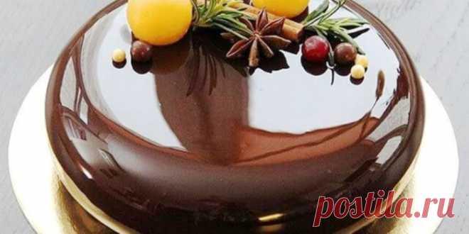 Дзеркальна шоколадна глазур для торта! Простий рецепт Дуже часто неправильно зроблена глазур, псує не тільки зовнішній вигляд десерту, а й його смак. Пропонуємо вам рецепт дуже простої глазурі.