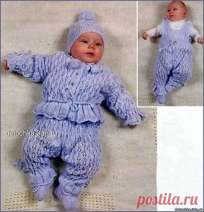 вязание спицами для детей до 1 года с описанием и фото 7 тыс
