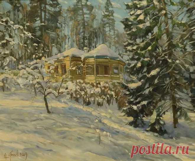 Художник Александр Абинов. Пейзажи