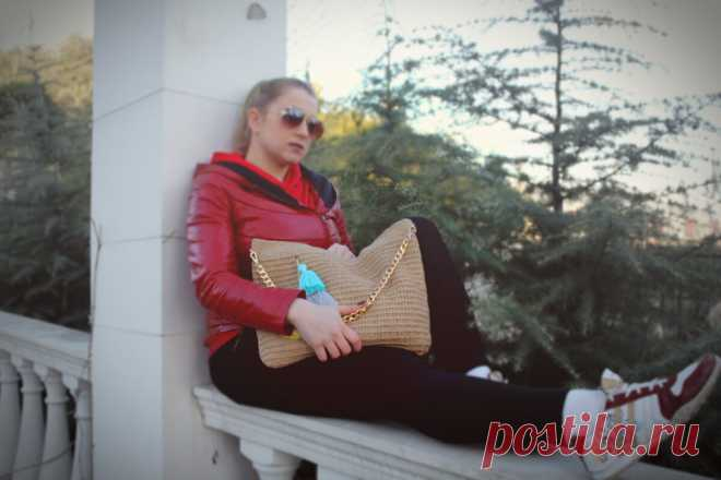 Решили связать легкую эко-сумку? Вяжите с удовольствием (описание вязаной сумочки из джутовой пряжи) | ДОМ и ТВОРЧЕСТВО | Яндекс Дзен