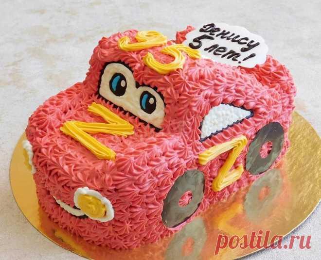 Торт машина для мальчика из крема рецепт с фото пошагово - 1000.menu