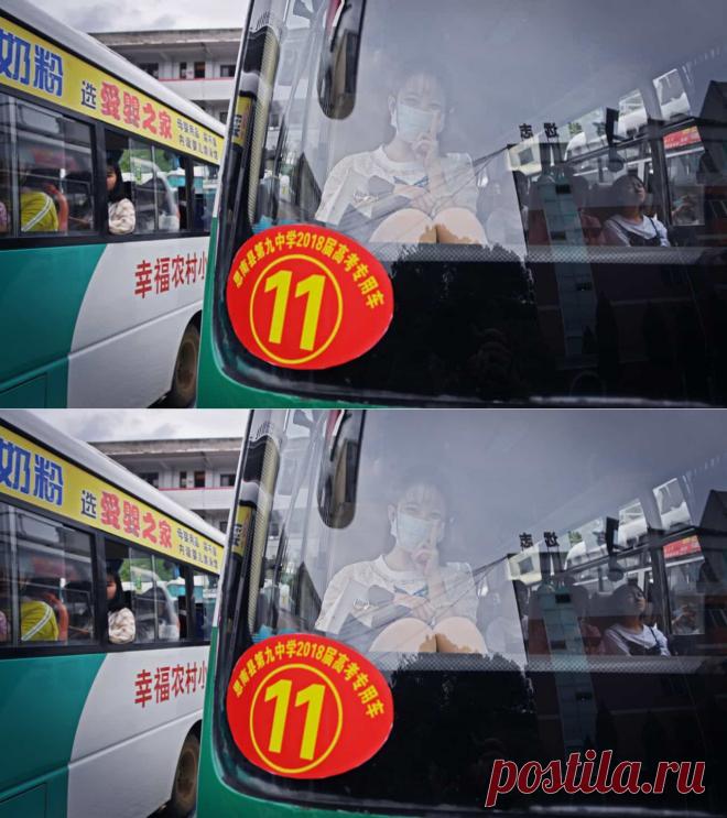 China. Gesto de motorista de autocarro para com menina comove internautas