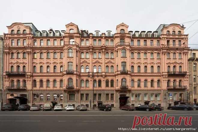Про дом Бака в Санкт-Петербурге.
