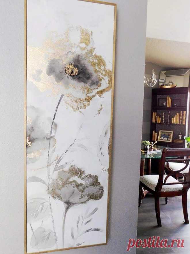 Идеи оформления стен в гостиной на любой вкус   Мой дом