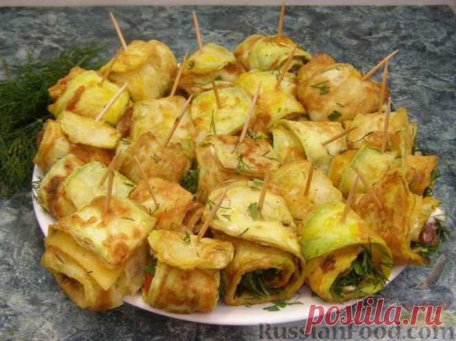 ¡Los platos de los calabacines - 50 recetas con poshagovymi la foto!.