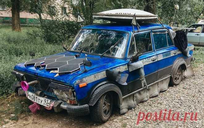 Чемпионат мира по смешному тюнингу авто   Иван Фастманов   Яндекс Дзен
