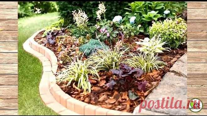Великолепные идеи украшения сада с использованием кирпича