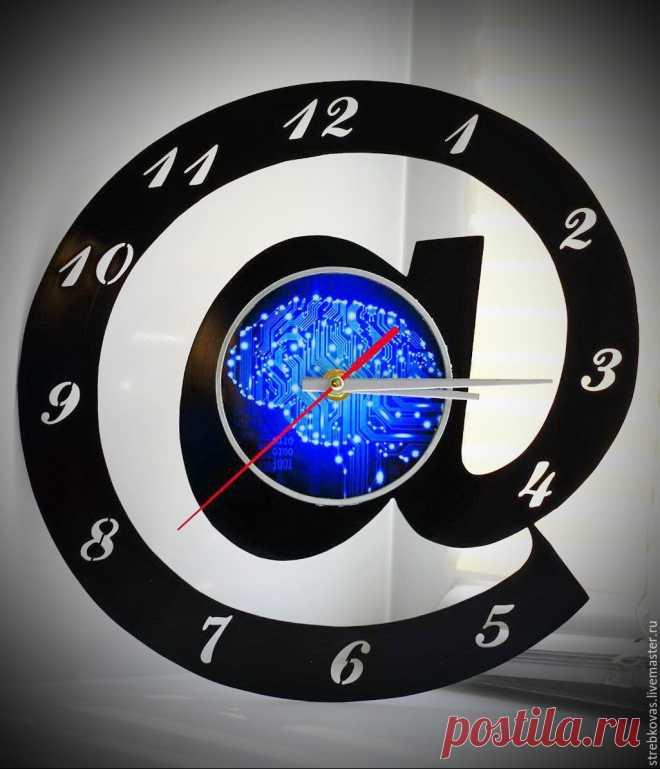 Оригинальный подарок. Настенные часы