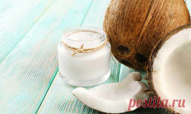 8 советов, как правильно использовать кокосовое масло для лица и волос