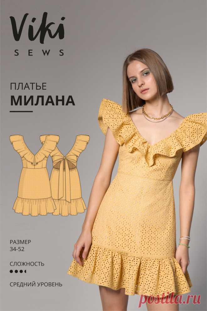 10 выкроек классных летних платьев. Бесплатные и платные. Швейные идеи на лето   Yana Bezdushna Blog   Яндекс Дзен