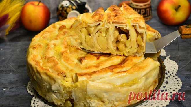 Безумно вкусный Яблочный пирог без замешивания теста. Почему так раньше не готовила. | Готовим с Екатериной Койдой | Яндекс Дзен