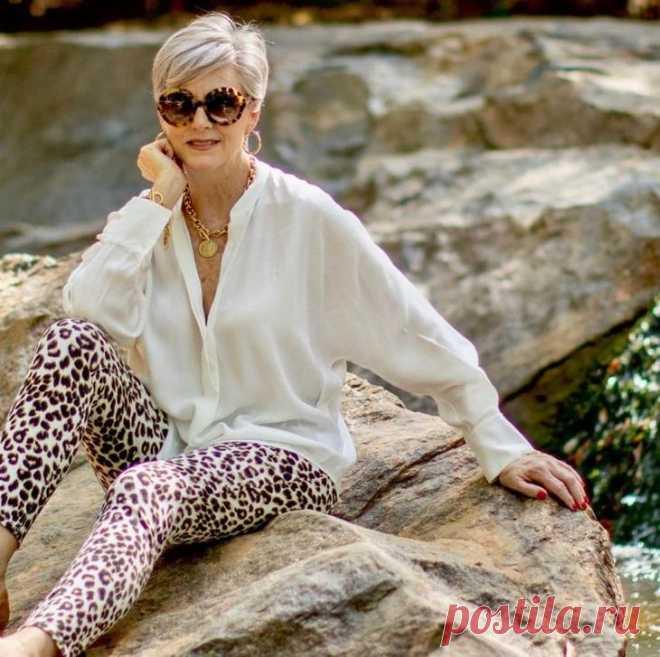 Стильные образы от Бет Джалали для модных красоток 60 лет